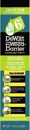 Dewitt-Company-6YR6300-Landscape-Weed-Barrier-Fabric-6-Feet-0