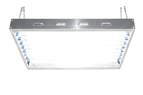 DoubleLux-DL8028-T5-Fluorescent-2Ft-8-Lamps-w-6500K-and-20000-Lumen-Grow-Light-System-0-1