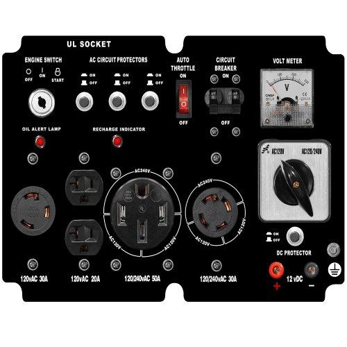 DuroMax-XP10000E-8000-Running-Watts10000-Starting-Watts-Gas-Powered-Portable-Generator-0-1