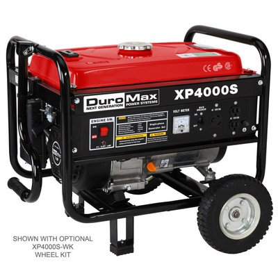 DuroMax-XP4000S-70-HP-Air-Cooled-OHV-Gasoline-Powered-Portable-RV-Generator-4000-watt-Red-0