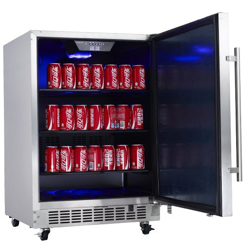 EdgeStar-549-Cu-Ft-142-Can-Stainless-Steel-Outdoor-Beverage-Cooler-0-0