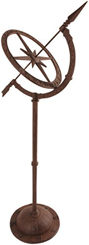 Esschert-Design-Cast-Iron-Sundial-on-Stand-TH37-0