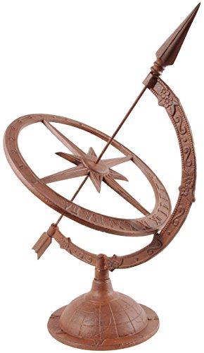 Esschert-Design-Large-Cast-Iron-Sundial-TH36-0