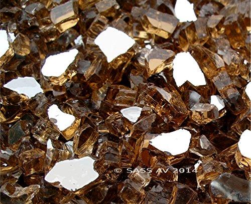 Fireglass-Fireplace-Fire-Pit-Glass-14-Copper-Reflective-40LBS-0