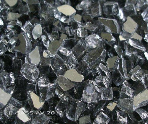 Fireglass-Fireplace-Fire-Pit-Glass-14-Gray-Reflective-25-LBS-0
