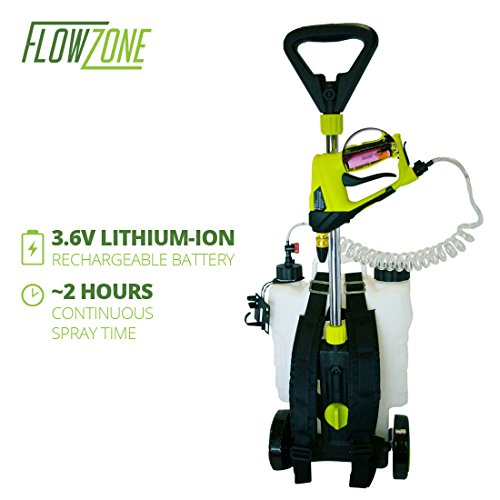 FlowZone-4-Gal-Multi-Use-36V-Battery-Powered-Backpack-or-Rolling-Garden-Sprayer-0-1