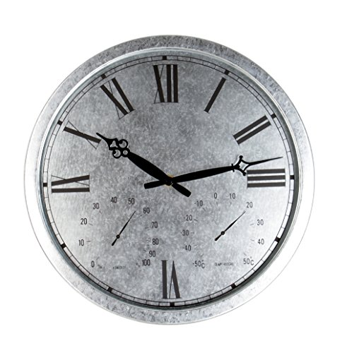 Galvanised-Outdoor-Garden-Clock-35cm-138-0-0