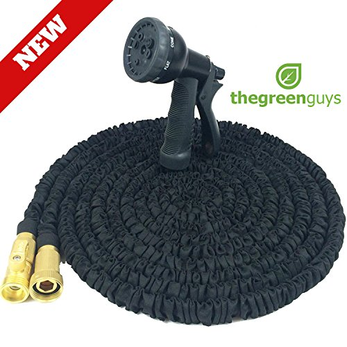 Garden-Hose-100-Feet-Strongest-Hose-Water-Hose-Expandable-Hose-Best-Hoses-with-Free-8-way-Spray-Nozzle-Rust-free-Watering-Hose-Hanger-and-Shutoff-Valve-Flexible-Hose-0