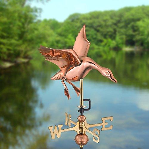 Garden-Landing-Duck-Weathervane-0-0