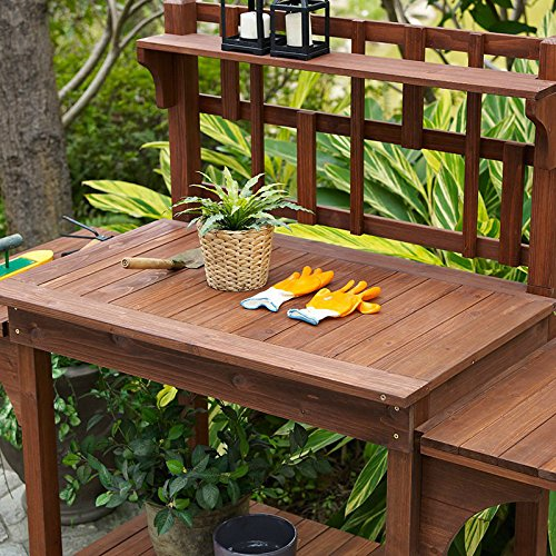 Garden-Potting-Bench-with-Storage-Shelf-Wood-Outdoor-Large-Work-Table-plans-Gardening-Planting-Station-Brown-0-1