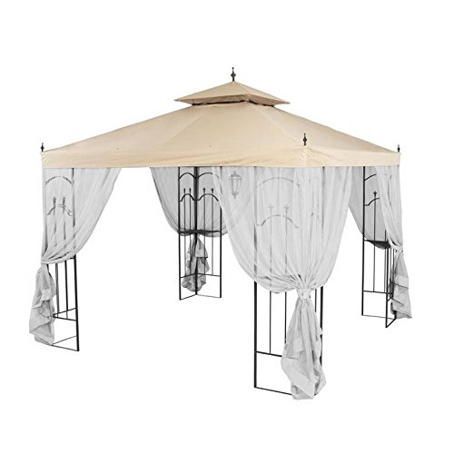 Garden-Winds-Replacement-Canopy-for-Home-Depots-Arrow-Gazebo-with-Rip-Lock-Technology-0