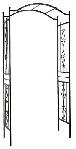 Gardman-R355-Charleston-Arch-Black-3-7-Wide-x-7-7-High-0