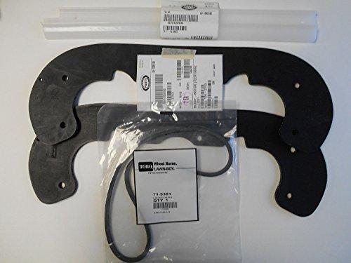 Genuine-Toro-CCR1000-CCR-1000-Snow-thrower-paddle-scraper-bar-and-belt-setkit-104-2753-71-5390-71-5381-0