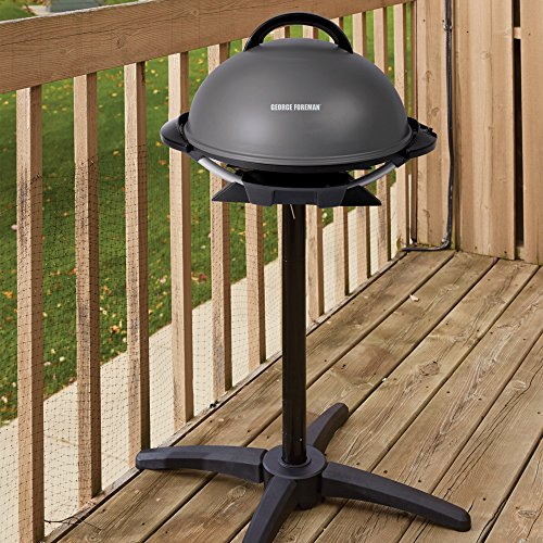George-Foreman-240-IndoorOutdoor-Grill-with-Removable-Stand-0-0