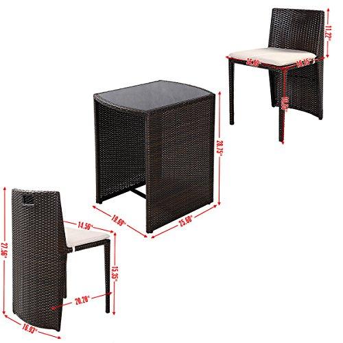 Giantex-3-PCS-Cushioned-Outdoor-Wicker-Patio-Set-Garden-Lawn-Sofa-Furniture-Seat-Brown-0-0