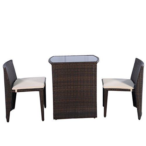 Giantex-3-PCS-Cushioned-Outdoor-Wicker-Patio-Set-Garden-Lawn-Sofa-Furniture-Seat-Brown-0