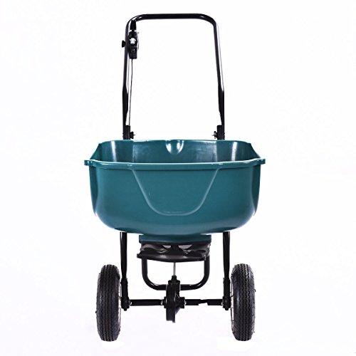 Giantex-65lbs-Weight-Capacity-Seed-Grass-Spreader-Fertilizer-Broadcast-Push-Cart-Lawn-Garden-Home-Backyard-0-1