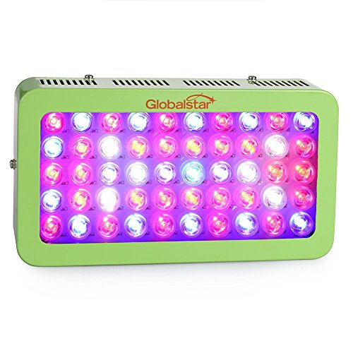 Global-Star-Gsg50x6w-Plus-Horticulture-Full-Spectrum-300w-Green-LED-Grow-Light-for-Indoor-Plant-Growingone-Switch-for-Leafanother-for-Flowering-Green-0