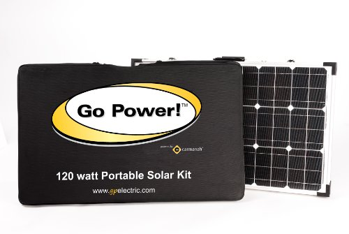 Go-Power-GP-PSK-120-120W-Portable-Folding-Solar-Kit-with-10-Amp-Solar-Controller-0-1