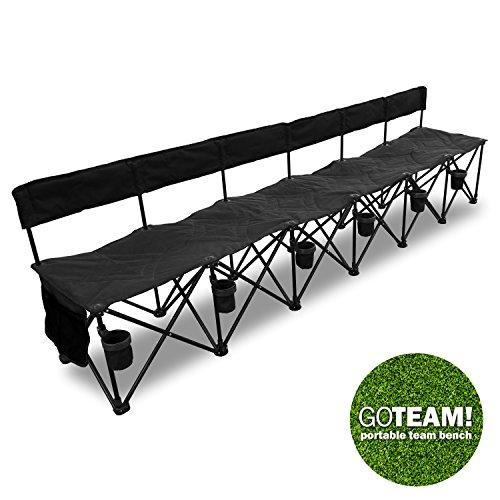 GoTeam-Pro-6-Seat-Portable-Folding-Team-Bench-Black-0