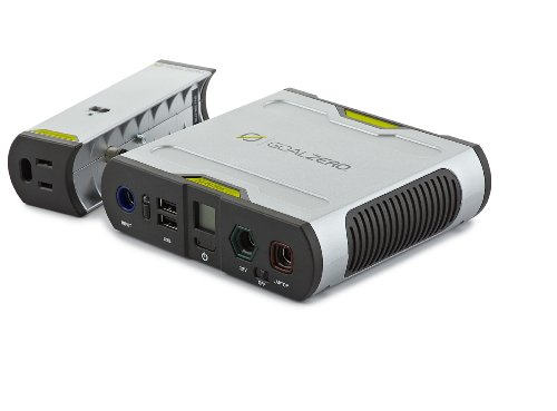 Goal-Zero-Sherpa-50-Solar-Recharging-Kit-with-Inverter-USB-LED-Stick-Light-and-Light-A-Life-LED-Lamp-0-0