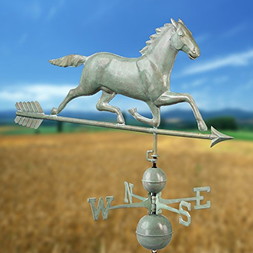 Good-Directions-580P-Horse-Weathervane-Polished-Copper-0-0