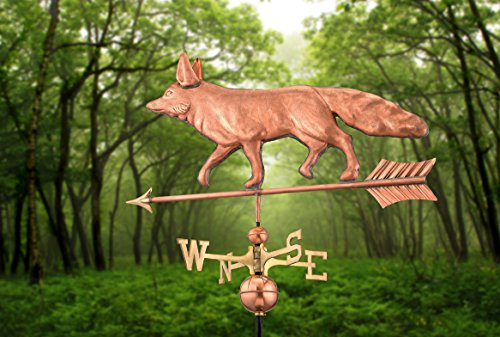 Good-Directions-655P-Fox-Weathervane-Polished-Copper-0-0