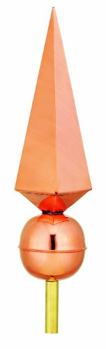 Good-Directions-701-Lancelot-Finial-Copper-0