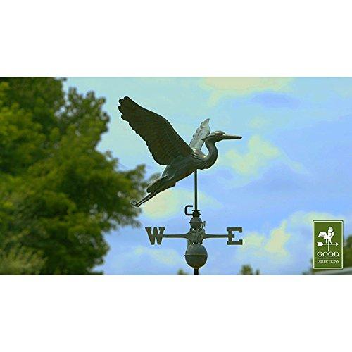 Good-Directions-9606V1-Blue-Heron-Weathervane-Blue-Verde-Copper-0