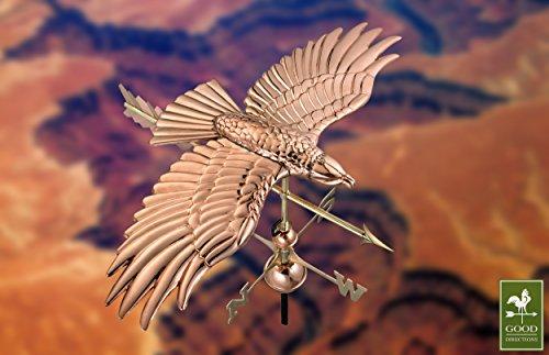 Good-Directions-9699PA-Soaring-Hawk-Weathervane-Polished-Copper-0-1