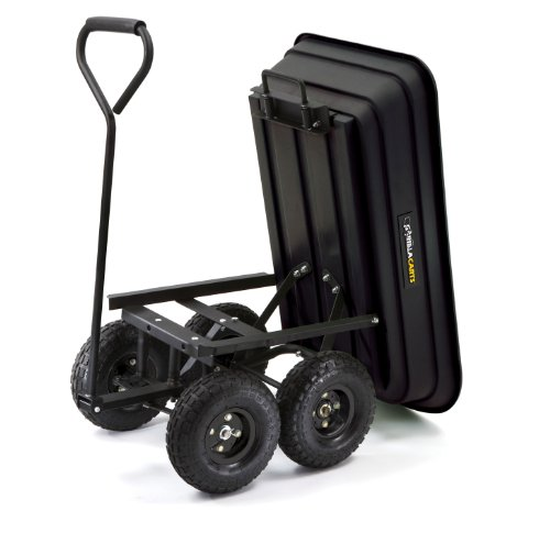 Gorilla-Carts-GOR200B-Poly-Garden-Dump-Cart-with-Steel-Frame-and-10-Inch-Pneumatic-Tires-0-1