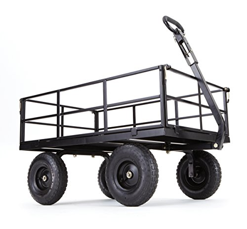 Gorilla-Carts-Heavy-Duty-Steel-Utility-Cart-with-Removable-Sides-and-13-Tires-with-1200-lb-Capacity-0-0