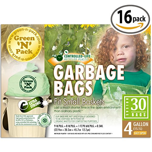 Green-N-Pack-Small-Garbage-Bags-4-Gallon-30-count-Boxes-Flat-Top-0