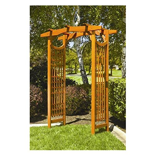 Greenstone-American-Bungalow-7-ft-Wood-Pergola-Arbor-0