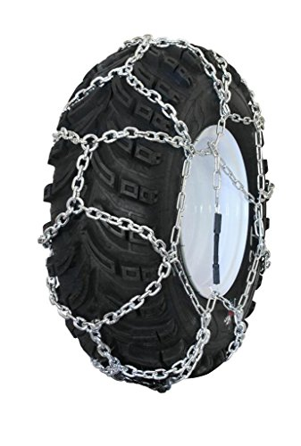Grizzlar-GTN-524-Garden-Tractor-Snowblower-Net-Diamond-Style-Alloy-Tire-Chains-15×500-6-0