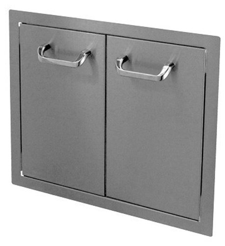 HBI-24DD-STD-Hasty-Bake-Stainless-Steel-Standard-Double-Access-Doors-24-Inch-0