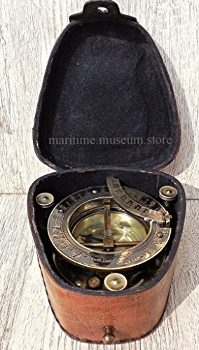 Handmade-Brass-Sundial-Compass-with-Leather-BoxC-3177-0-0