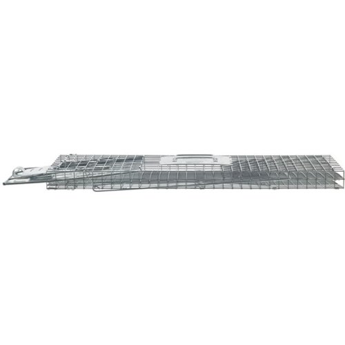 Havahart-1089-Collapsible-One-Door-Live-Animal-Cage-Trap-for-Raccoon-Stray-Cat-Groundhog-Opossum-and-Armadillos-0-1