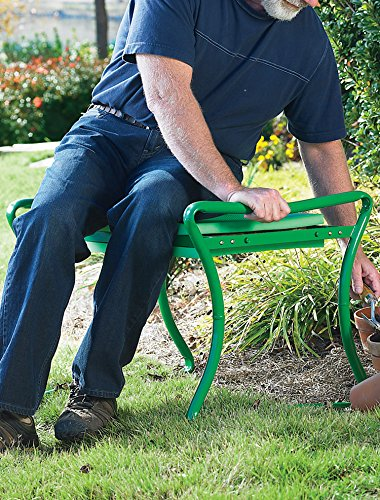 Heavy-Duty-Foldable-Garden-KneelerBench-Green-0