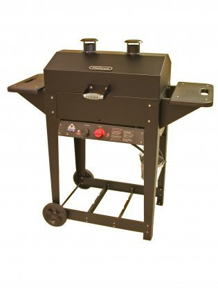 Holland-Grill-BH421AG9-Liberty-Liquid-Propane-Grill-with-Cast-Iron-Burner-Stainless-Steel-Cooking-Grid-Aluminum-Drip-Pan-and-No-Flareup-0