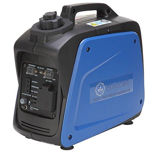 Homegear-950i-Digital-950-Watts-Portable-Gas-Inverter-Power-Generator-0
