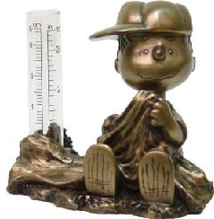 Homestyles-Peanuts-51505-Linus-Lucy-and-Woodstock-Collectors-Set-of-3-Rain-Gauge-Antique-Bronze-Figurines-from-The-Snoopy-Peanuts-Garden-Statue-Collection-0-0