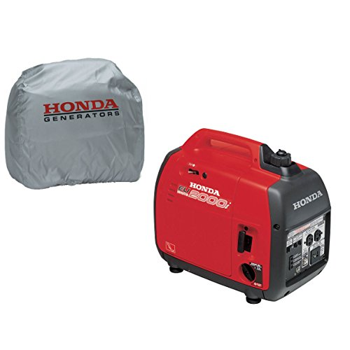 Honda-EU2000i-Super-Quiet-2000W-Generator-with-Inverter-Silver-Storage-Cover-0