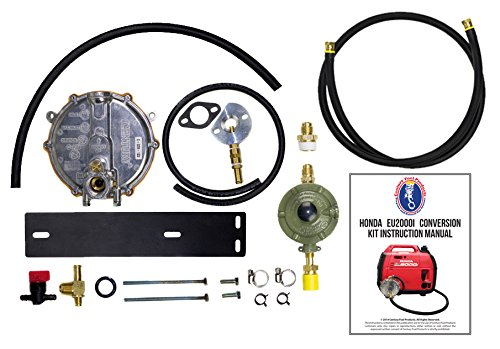 Honda-Eu2000i-Generator-Propane-Natural-Gas-Conversion-Kit-with-Propane-Connection-Hose-and-Regulator-Complete-Kit-for-Propane-Use-0