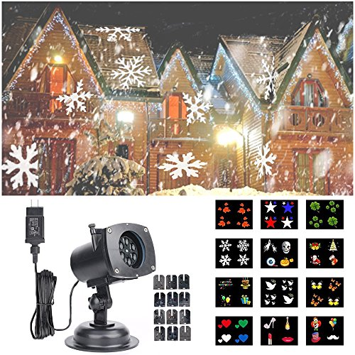 Hosyo-Motion-Landscape-Lights-Projector-LED-Spotlights120V-Waterproof-With-12pcs-Switchable-Pattern-Lens-For-Christmas-Holiday-Home-Decoration-Wall-Motion-Decoration-0