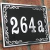 House-address-plaque-with-your-house-number-in-a-classical-Style-Solid-Aluminium-hand-made-to-order-in-England-0-0