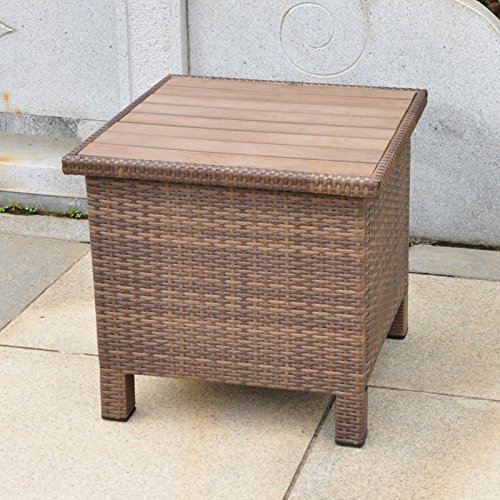 International-Caravan-Barcelona-All-Weather-Wicker-Contemporary-Outdoor-Storage-Table-0-0