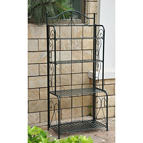 International-Caravan-Iron-Folding-Bakers-Rack-0-1