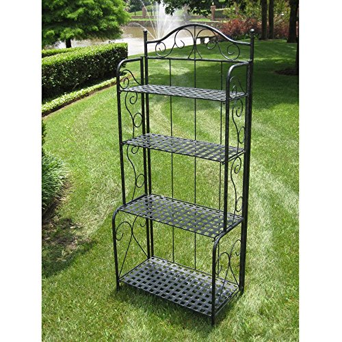 International-Caravan-Iron-Folding-Bakers-Rack-0