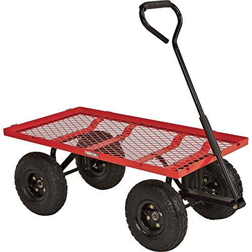 Ironton-Steel-Cart-34inL-x-18inW-400-Lb-Capacity-0-1
